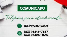 COVID-19: Secretaria-Executiva de Regularização Fundiária de Porto Nacional adota atendimento online pelo Whatsapp