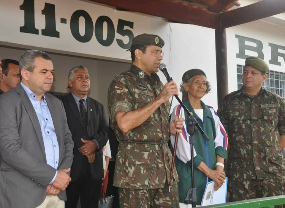 Porto Nacional recebe visita de general de brigada do Exército