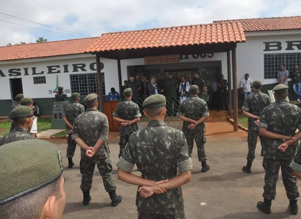 Porto Nacional recebe visita de general de brigada do Exército 3