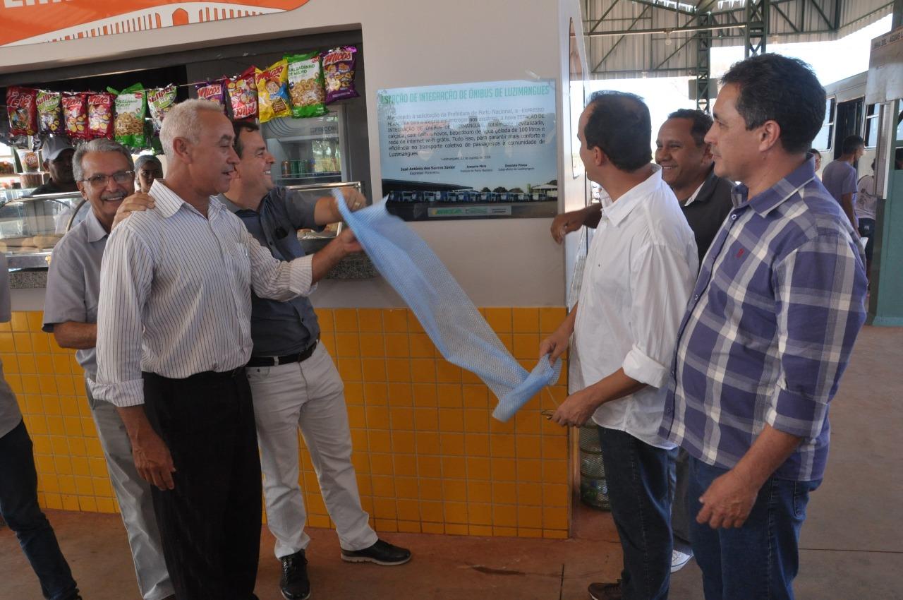 Prefeitura de Porto Nacional e Expresso Miracema entregam nova frota e revitalização da Estação de Ônibus de Luzimangues 3