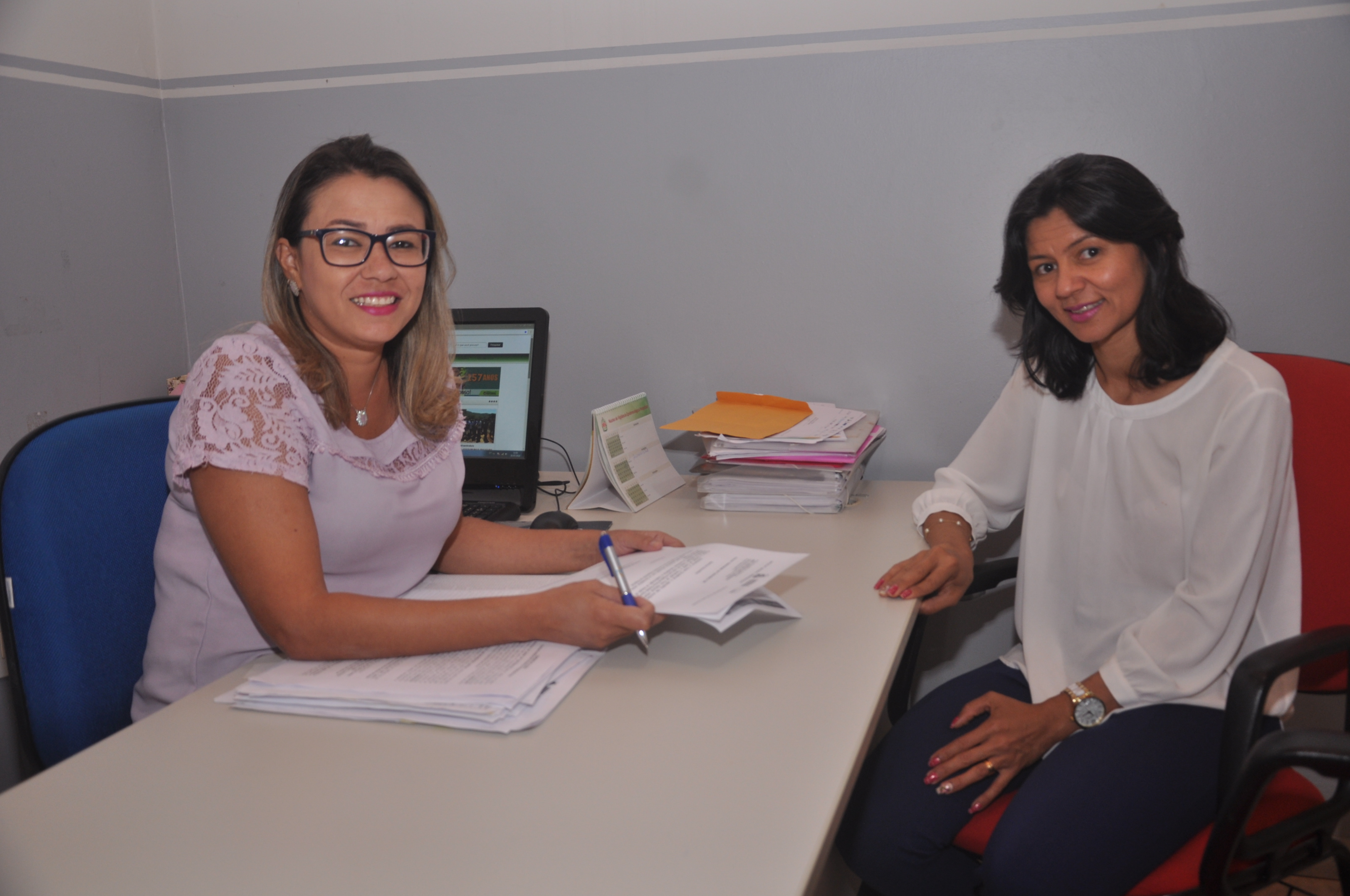 Secretária Anna Crystina e diretora da Atenção Básica Dilce do Nascimento premiadas nacionalmente