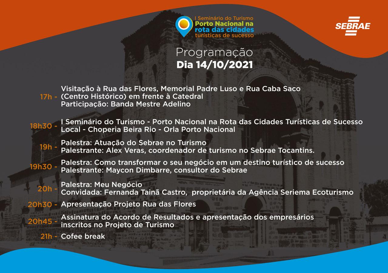 Convite I SEMINÁRIO DO TURISMO